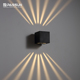 PASSUN NEW product Multiple light effects fancy led outdoor wall light IP65