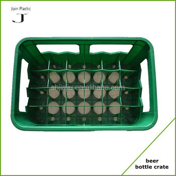 Good Quality 12 Bottles Plastic Beer Crate