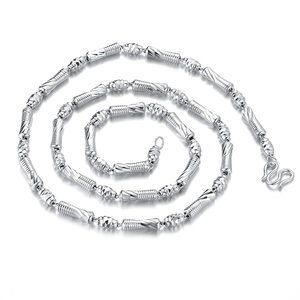 sterling silver necklace jewelry fashion men's necklace chain