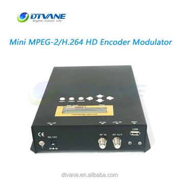 DMB9592Mini Modulator MPEG 2 H264 HD Video Encoder
