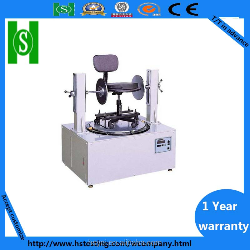 Office chair wheel lifetime teting machine with OEM service