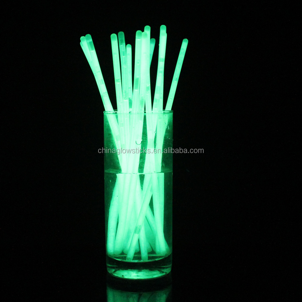 Halloween party decoration, 8 inch glow stick bracelets with logo