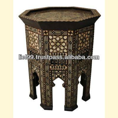 Table c t marocain table basse id de produit 110127152 for Table a the marocaine