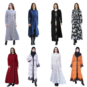 2017 New Designs Dresses Women Lady Muslim Dubai Abaya Kaftan for Sale with Stock