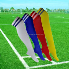YJB78 men cotton socks sports footbal long cylinder moving stripes socks wholesale soccer socks