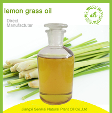 2017 hot sale high quality thai lemongrass essential oil for fragrance oil with Chinese green herb extraction