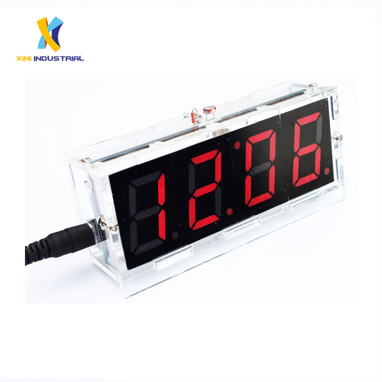 Integrated Circuits Ne555 Cd4017 Running Led Flow Light Electronic Production Suite Control Board Diy Kit Module Capacitor Oscillator Clock Siganal Attractive Designs;