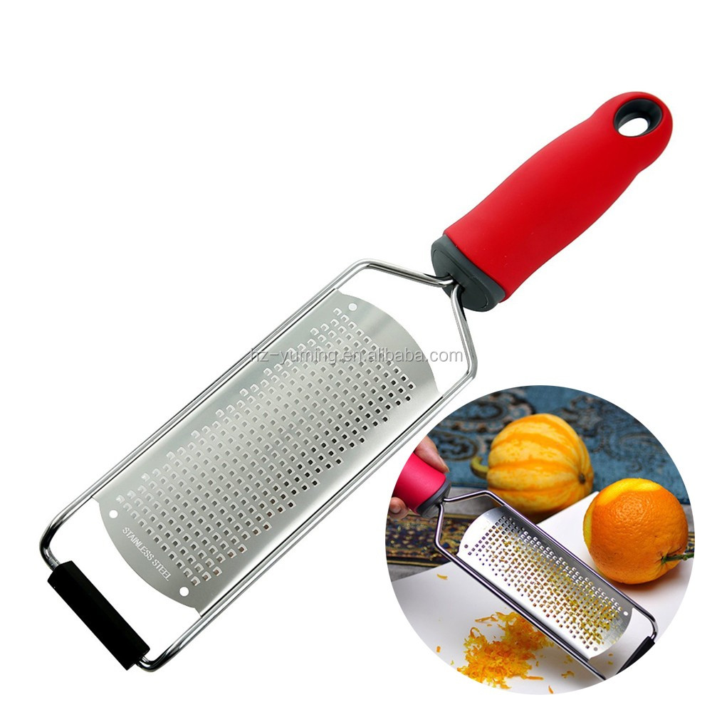 Fruit & Vegetable Tools 304 stainless steel Lemon Zester and manual cheese grater