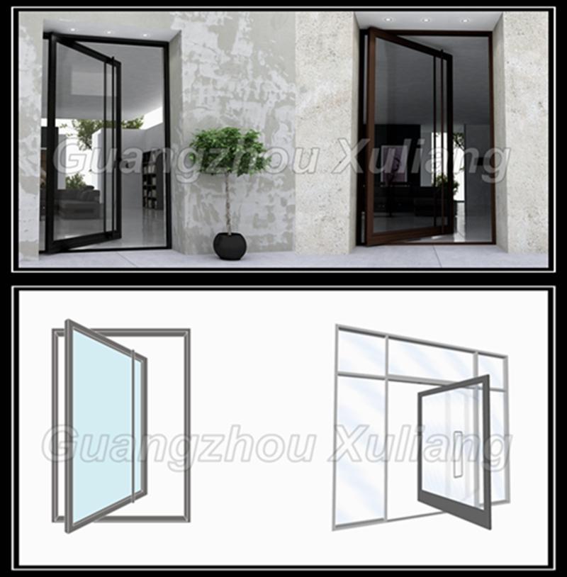 Cadre en aluminium pivot porte d 39 entr e en verre pivot - Porte d entree en verre ...
