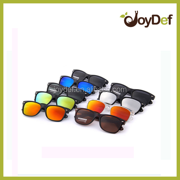2016 The most popular fashion outdoor unisex unique design type sunglasses with mirror lens