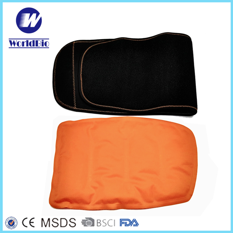Neoprene Wrap With Gel Hot Cold Pack For Motion