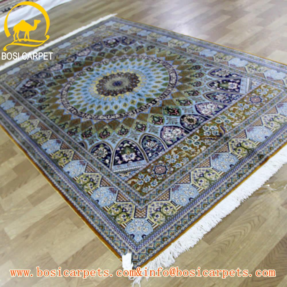 5x6.5ft handgemaakte zijden tapijt kashmir tapijt prijzen ...