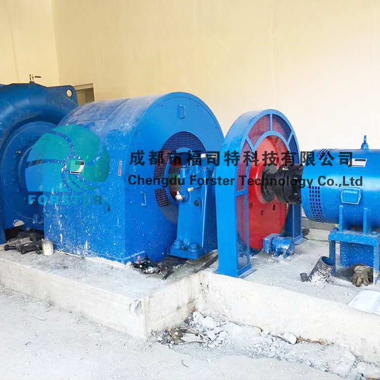 Automated Control 350KW To 4000KW Francis Hydro Power Francis Turbine Generator For Power Plant