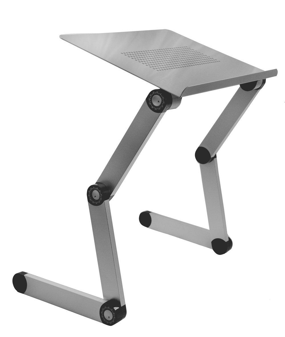 buy sojitek silver adjustable folding ventilated laptop notebook