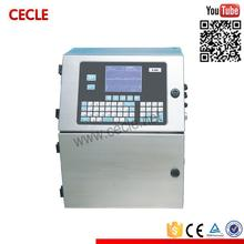 T&D barcode printing machine cij inkjet printer for plastic bag, bottle
