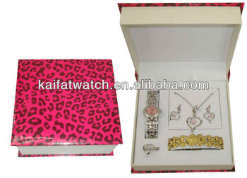 Watch Gift Sets For Wedding Women Watches Set Necklace