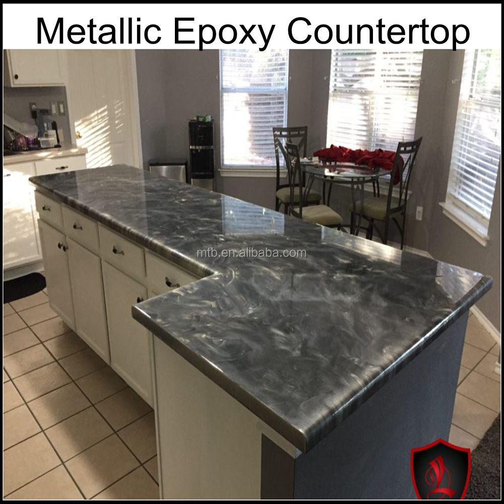 Dauerhaft Hitzebeständig Langlebigsten Epoxidharz Arbeitsplatte - Buy Epoxy  Arbeitsplatte Beschichtung,Metallic Epoxy Küchenarbeitsplatte