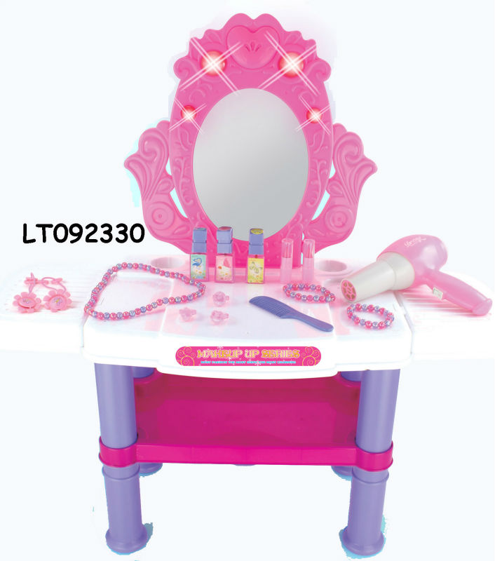 Pink Dresser Set Toys With Music