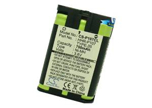 Battery2go - 1 year warranty - 3.6V Battery For Panasonic KX-TG6051M, KX-TG2770S, KX-TG6051M, KX-TG3032, KX-TG6052PK