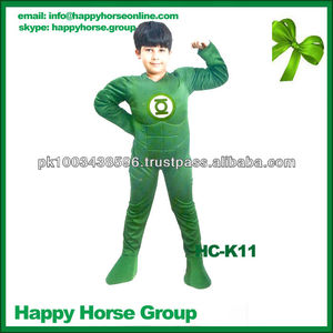 boys cosplay costumes, green lantern costume, boys carnival costumes