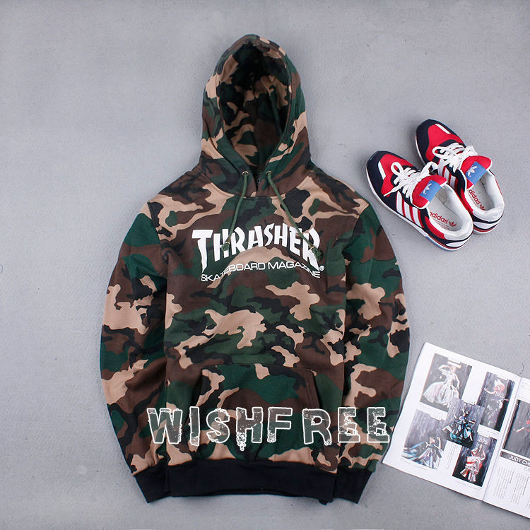 Matching Couple Camo Hoodies images
