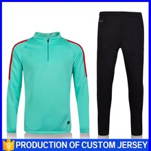2016National team in stock latest design thai top quality mens soccer tracksuit