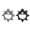 12 Functions Stainless Steel EDC Screwdriver Key Ring Bottle Opener Bike Tool Pocket Multi Tools for
