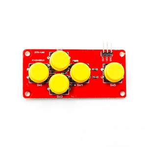 GA1066 AD Keyboard Simulate Five Key Module Analog Button for Sensor Expansion Board