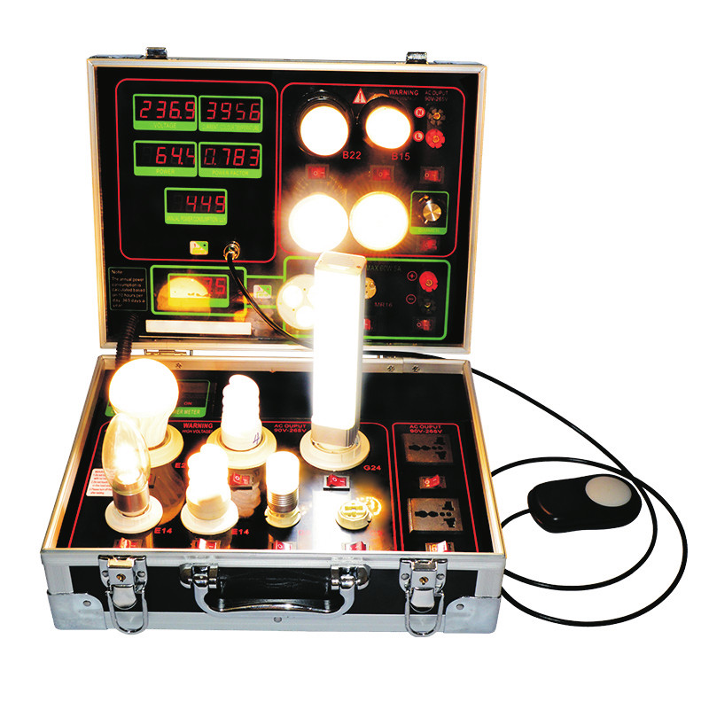 Top selling AC DC power <strong>meter</strong> with lux and cct led light tester