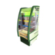 330L Supermarket open air cabinet curtain display chiller for Fruits