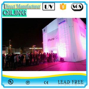 Qiling hot-selling igloo inflatable exhibition hall factory