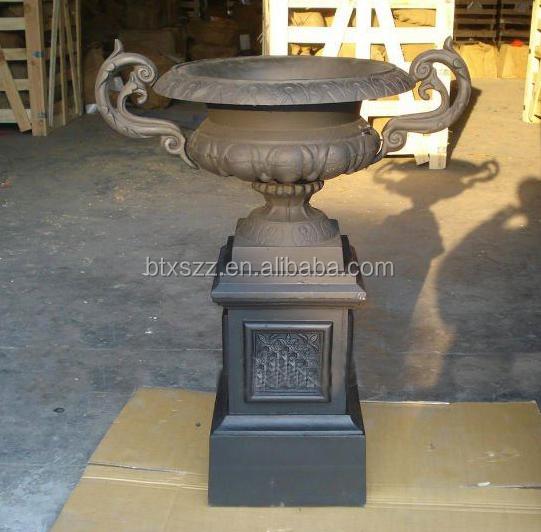 fundicin de hierro antigua macetaurnas de metal hierro fundido jardineras