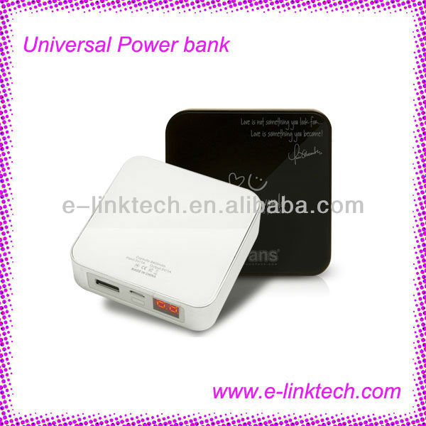 iFans New 8400mah portable power bank for iPad,iPhone universal power bank