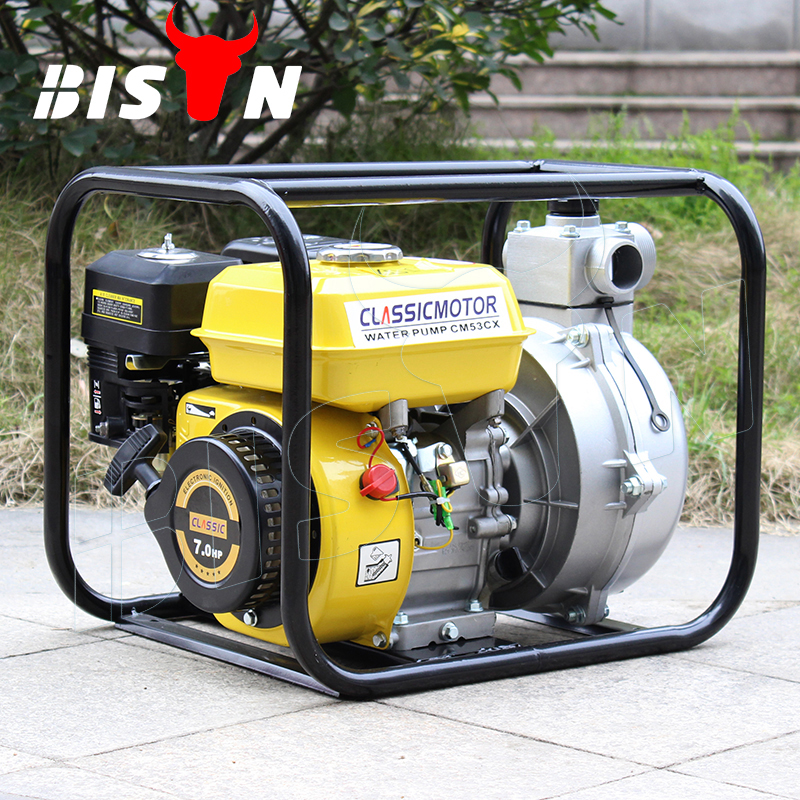 BISON(CHINA) OEM Factory BS20H Wholesale New 2 Inch Irrigation High Pressure Gasoline Water Pumps Types