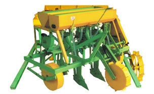 Zero Till Multi Crop Planter for Controlled Tractor Traffic