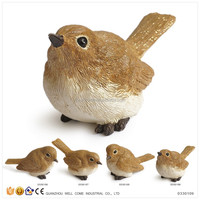 Resin Miniature Birds Wholesale Garden Decor