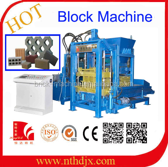 Good quality india automatic used concrete block making machine for sale