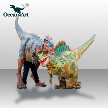 OA J9071 Realistic Walking Dinosaur Costume With Sounds