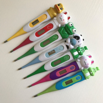 bulk child use love cartoon oral/mouth animal thermometer digital