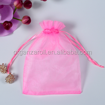 Trade Assurance High Quality Transparent Organza Gift Bag