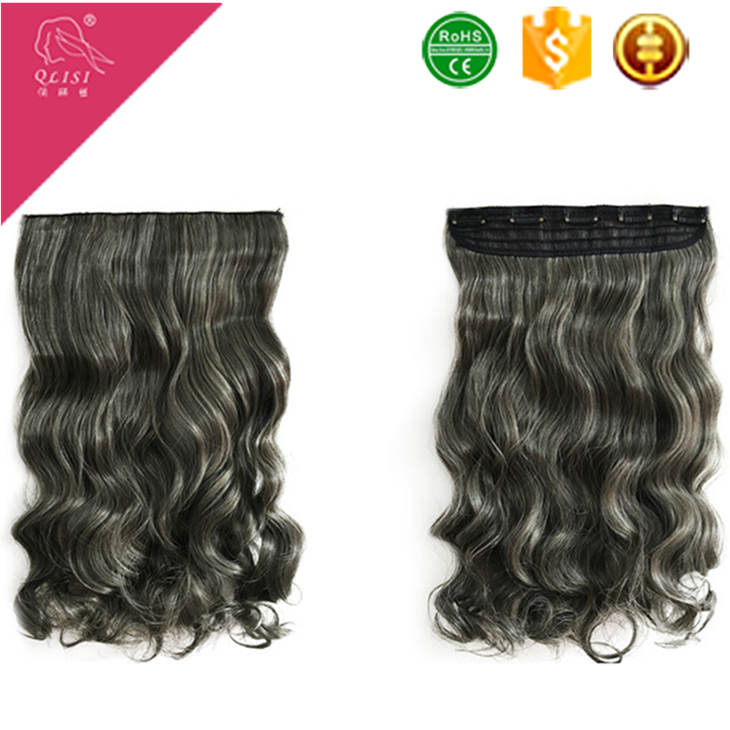 allibaba com grey color synthetic futura fiber hair extension