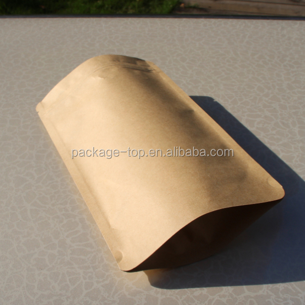guangdong zhongbao reusable food pouch of kraft paper material