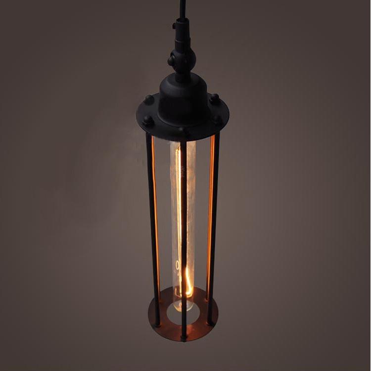 Retro Indoor Lighting Vintage Pendant Light Led Lights 24: Personality American Vintage Wrought Iron Pendant Lights