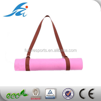 100 Cotton Yoga Mat Carry Strap Fits All Yoga Mats Buy