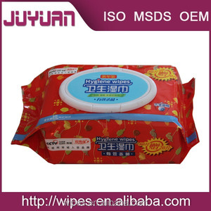 comfortable hand Medical Anti Bacteria Wet Tissue