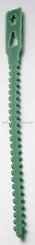 plastic garden tree soft floding tie for sale