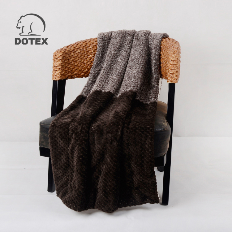 Competitive price fire retardant 20 times washing home use mink blankets india