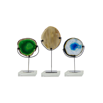 Agate Home Decor wholesale Top Quality Multicolor Optional Agate Decorations for Home Decor