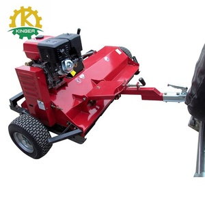 walk behind small flail mower atv with hammer blades