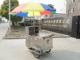Well Structured bicycle bike hotdog food cart, wind umbrella mobile food trailer stall food
